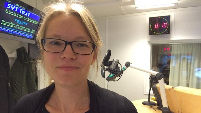 Ingela Regnell, beredskapsdirektör, Länsstyrelsen Västmanland Foto: Filip Annas/Sveriges Radio
