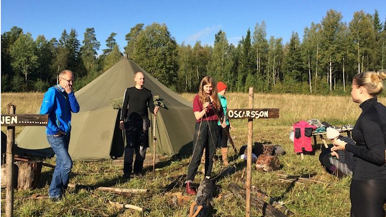 Bo Johansson och Lajvare. Foto: Sveriges Radio