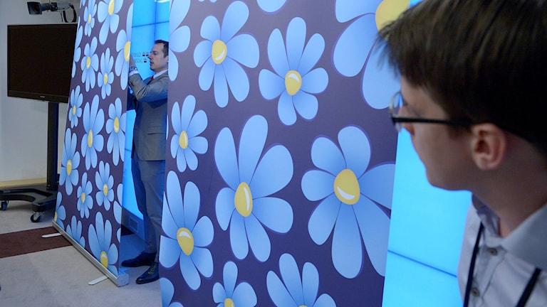 Sverigedemokraterna förbereder presentation av sin vårbudget. Arkivbild: Janerik Henriksson/TT