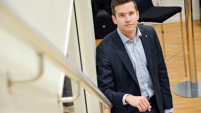 Gabriel Wikström, socialdemokratiskt statsråd med ansvar för folkhälso-, sjukvårds- och idrottsfrågor