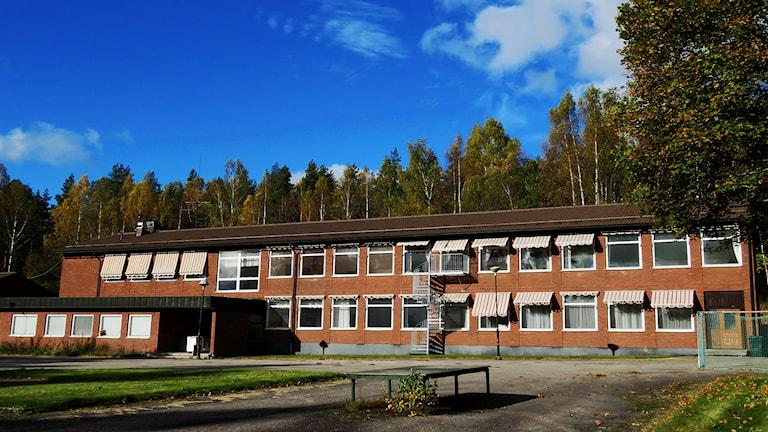 Riddarhyttans skola. Foto: Monica Elfström/Sveriges Radio.