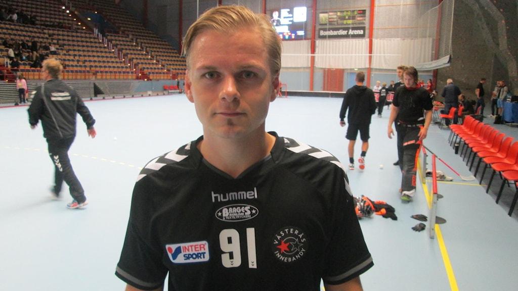 Christian Mattsson IBF Västerås. Foto: Hans Sjöström/Sveriges Radio