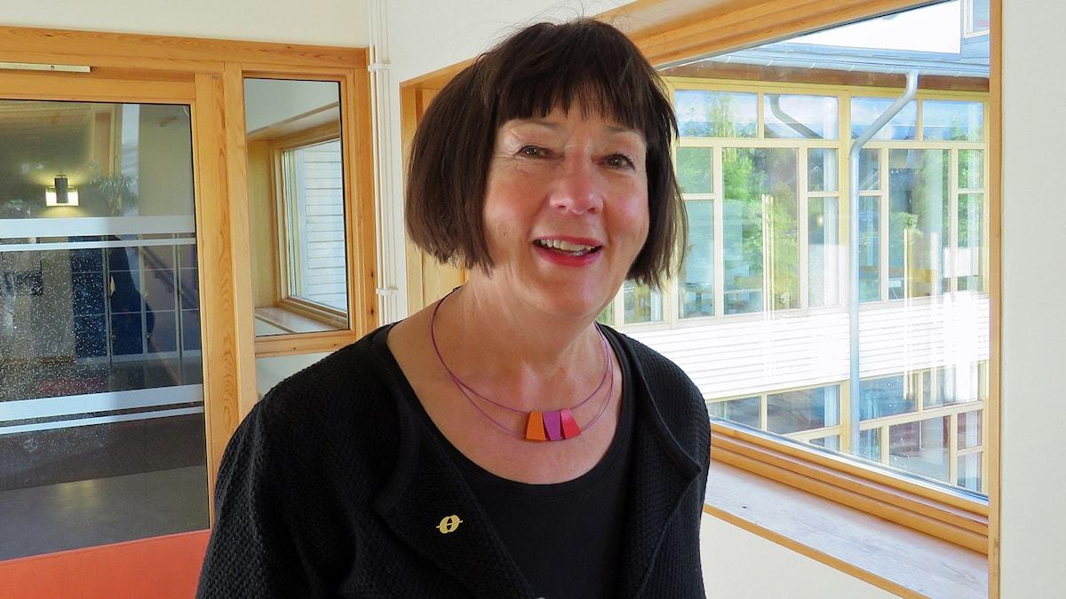 Pirjo Lahdenperä. Foto: Monica Elfström/Sveriges Radio.