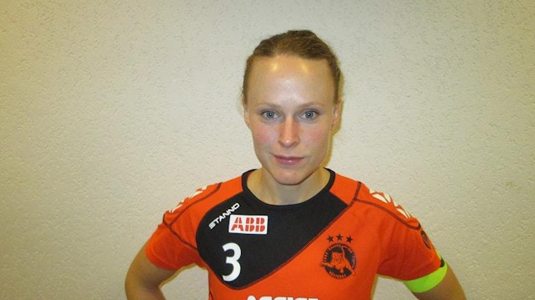 Sanna Scheer Rönnby IBK. Foto: Hans Sjöström/Sveriges Radio