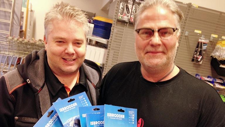 Svante Lagerqvist och Benny Andersson. Foto: Kennet Lindquist. SR.