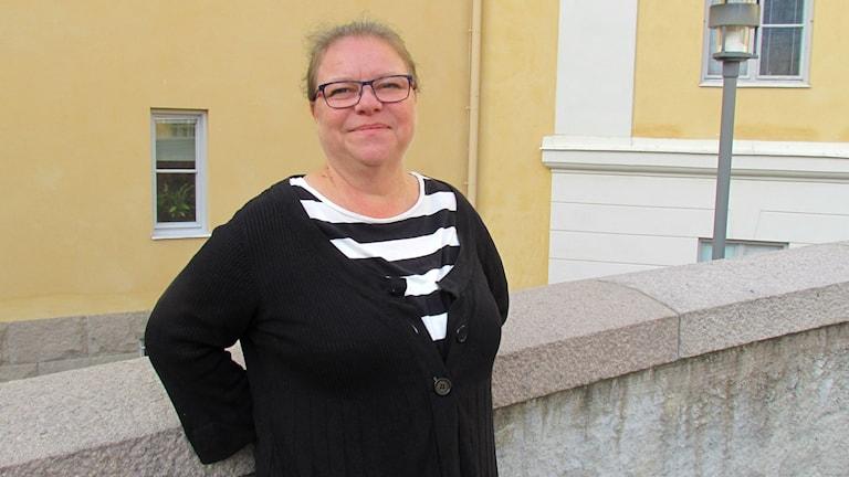 Denise Norström (S) regionsråd i Västmanland. Foto: Marcus Carlsson/Sveriges Radio.