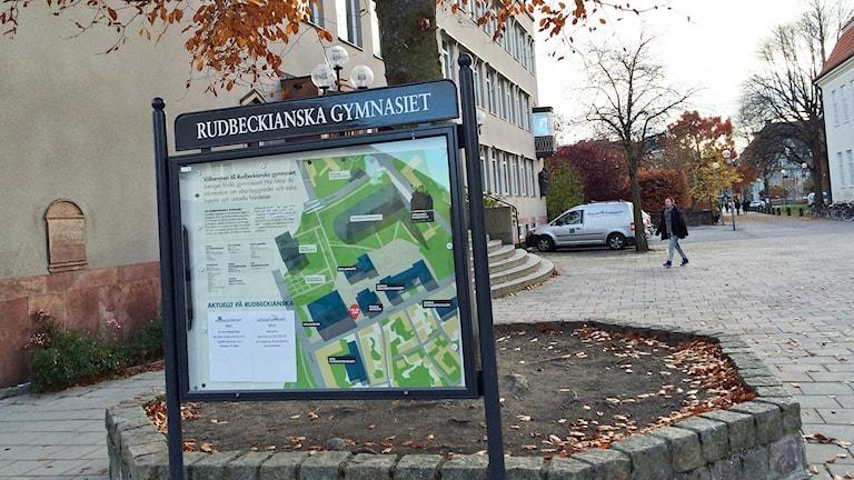 Rudbeckianska gymnasiet i Västerås.