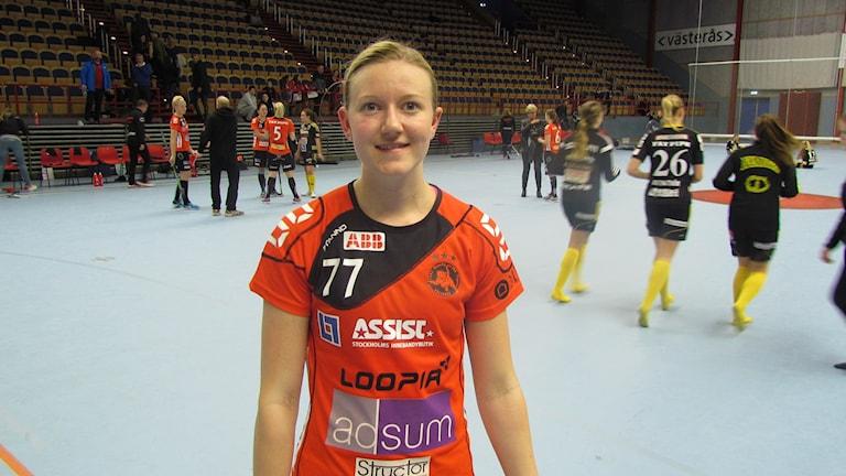 Adina Augustsson Rönnby IBK. Foto: Hans Sjöström/Sveriges Radio