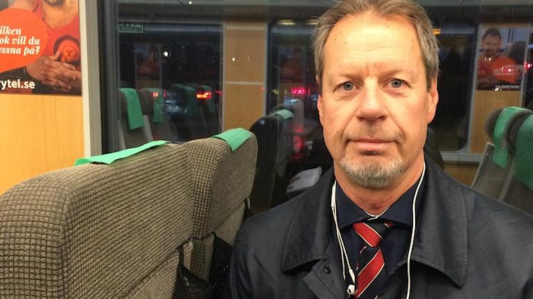 Stockholmspendlaren Kurt Andersson.