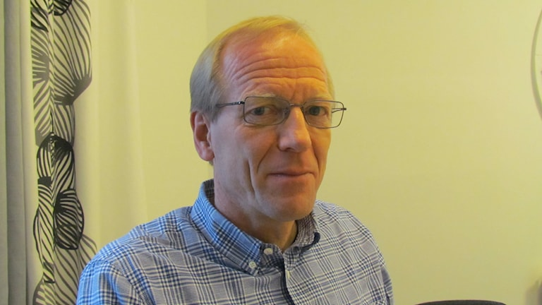 Claes Stenlander. Foto: Inga Korsbäck/Sveriges Radio