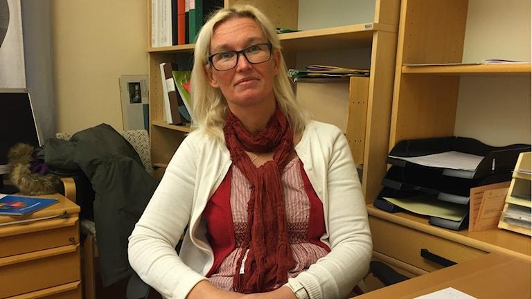 Ann-Kristine Hallström, överförmyndarhandläggare i Sala kommun