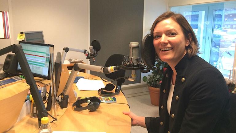Lina Andersson, en av initiativtagarna till Affischkalendern.