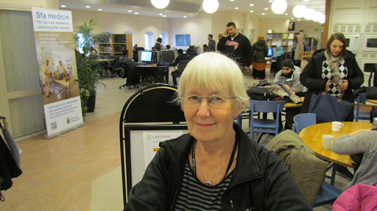 Christina Czitrom. Foto: Inga Korsbäck/Sveriges Radio.