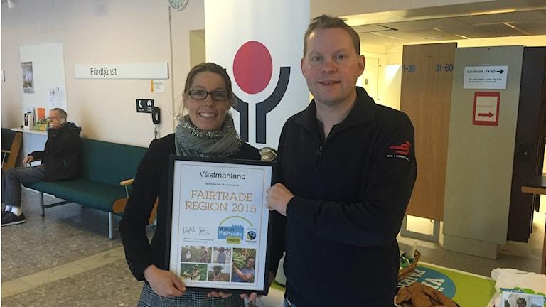 Landstinget fairtrade-diplomeras