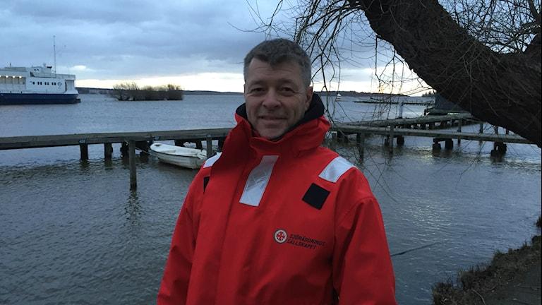 Joakim Brosten, Sjöräddningssällskapet. Foto:Samuel Sillén/Sveriges Radio