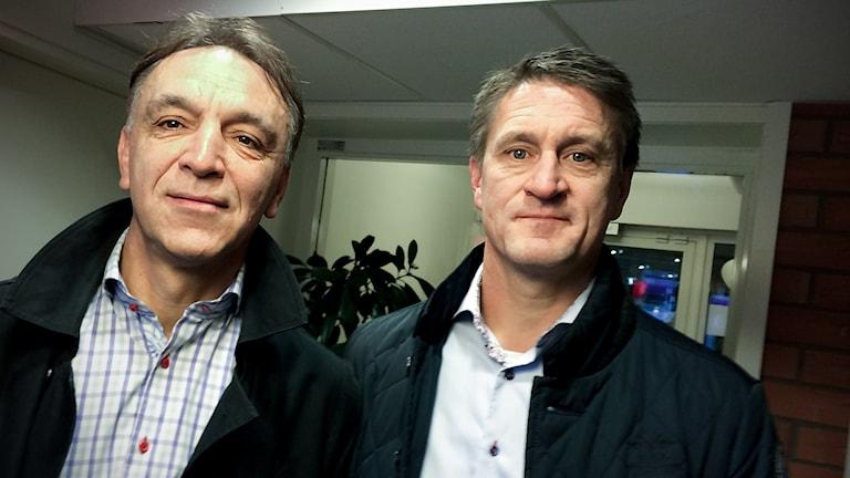 Ado Sadzak, Peter Lundqvist, styrelseledamöter VSK-fotboll.