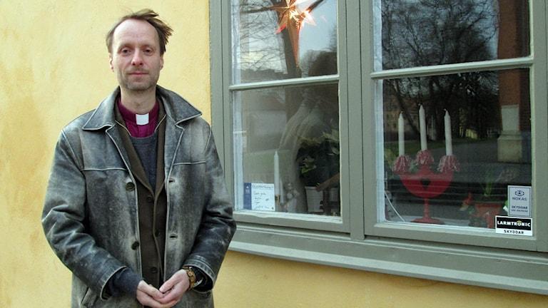 Mikael Mogren, biskop i Västerås stift. Foto: Gustaf Larsson/Sveriges Radio.