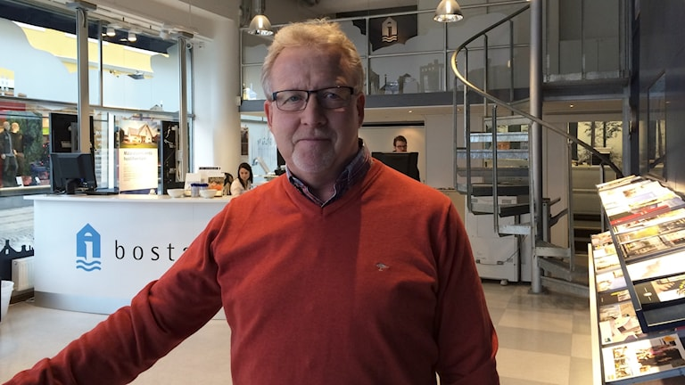Lars-erik Bengtsson, vd på Bostad Västerås. Foto: Sveriges Radio