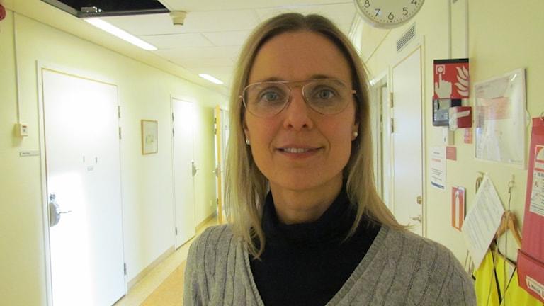 Martina Ågren. Foto: Inga Korsbäck