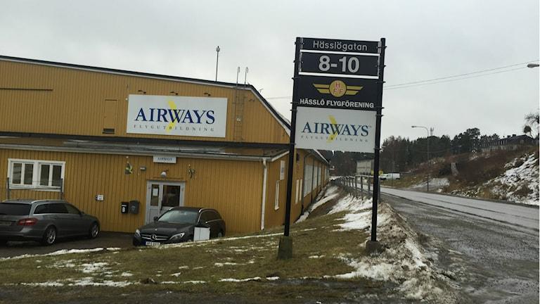 Det var tre av Airways Flygutbildnings elever som kraschade i fredags