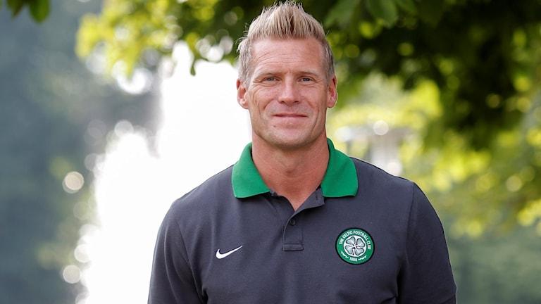 Johan Mjällby är aktuell att bli manager i VSK Fotboll. Foto: TT Bild.