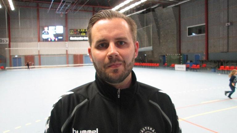 John Kvist sportchef IBF Västerås. Foto: Hans Sjöström/Sveriges Radio