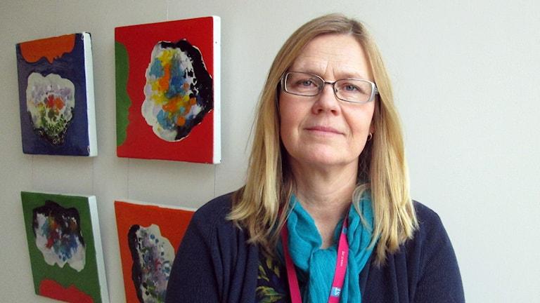 Anna Onsten Molander från fackförbundet ST. Foto: Eva Kleppe/Sveriges Radio.