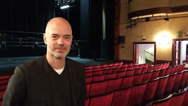 Niklas Hjulström, chef Västmanlands teater. Foto: Martin Vare/Sveriges Radio.