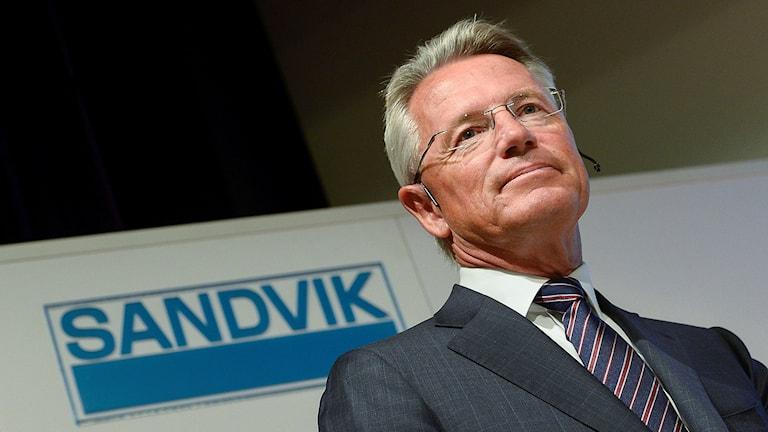 Björn Rosengren, vd för Sandvik. Foto: Jonas Ekströmer/TT.