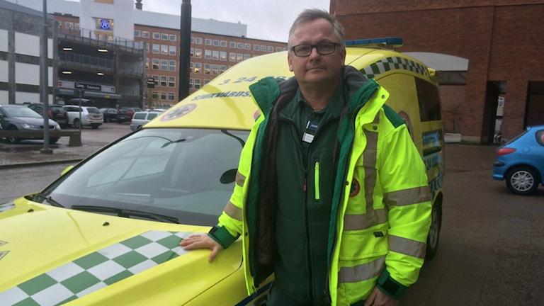 Hans Anundi, enhetschef på Ambulanssjukvården i Västerås