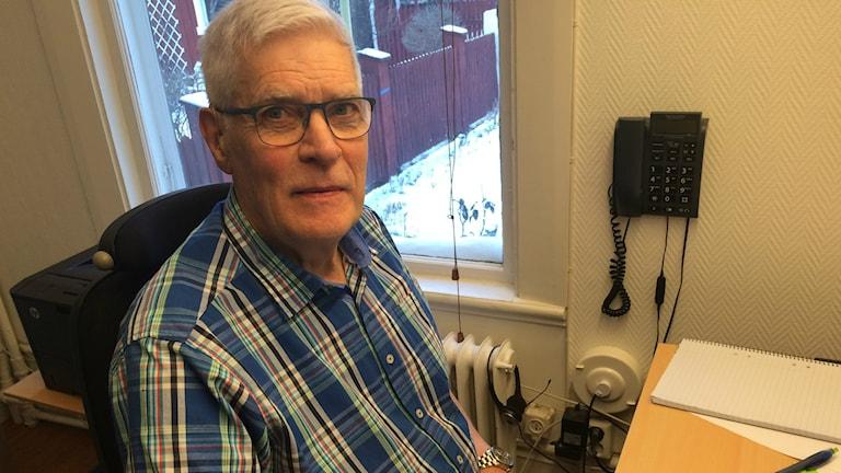 Sven Bergman, ordförande i föreningen Engelbrektsloppet.