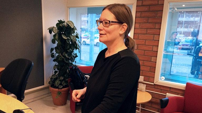 Linda Emterby åkte utomlands för att få hjälp att skaffa barn som ensamstående