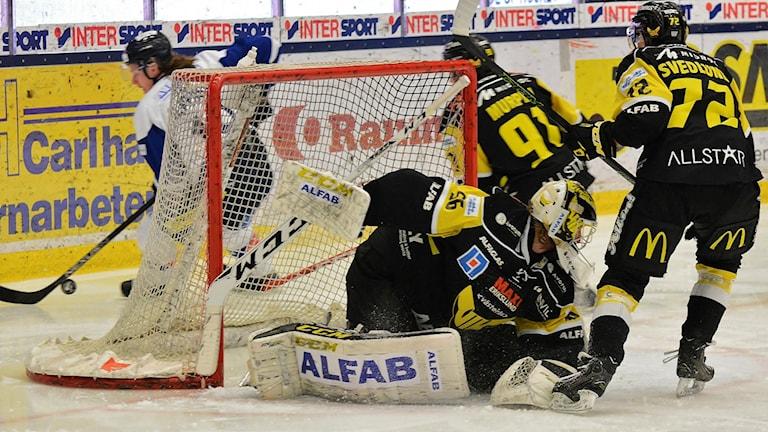VIK Hockey förlorade hemma mot Karlskoga.