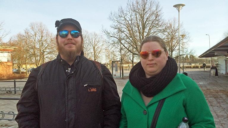 Richard och Jennifer som bor på Bäckby.