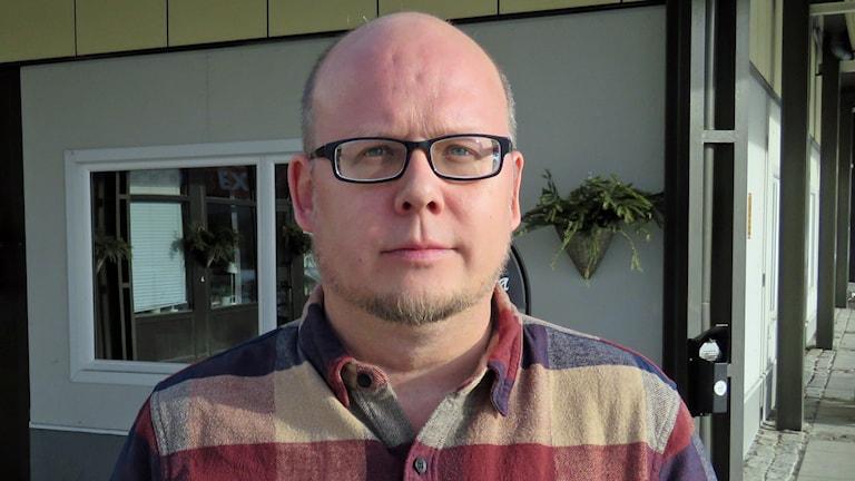 Niclas Bergström (S) ordförande socialnämnden Fagersta.
