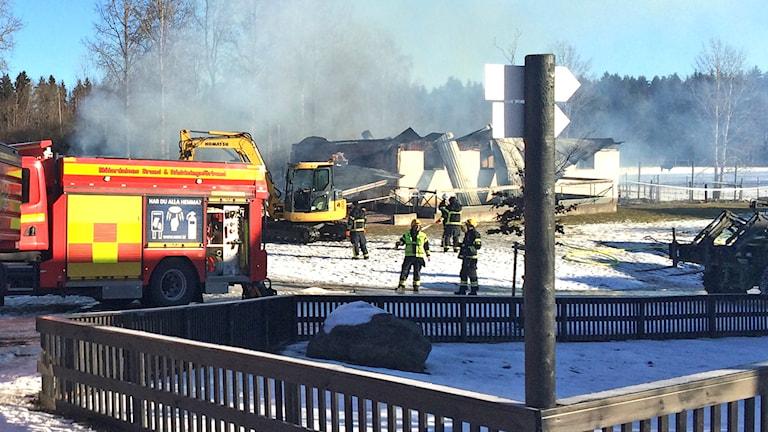 Brand i Kungsbyn