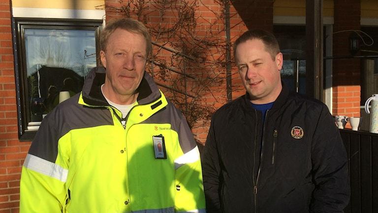Lars Köningsson, trafikverket, Mattias Forsberg, berörd