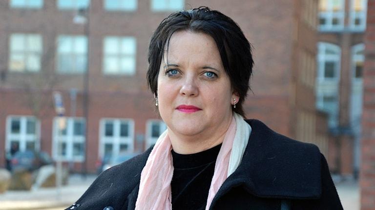 Amanda Agestav (KD) ordförande i Västerås förskolenämnd. Foto: Eva Kleppe/Sveriges Radio.