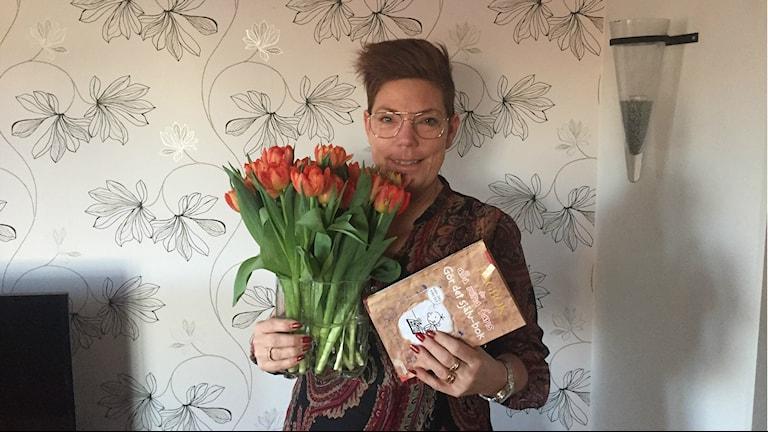 Åsa Reisten från Västerås fyller 12 år på skottdagen