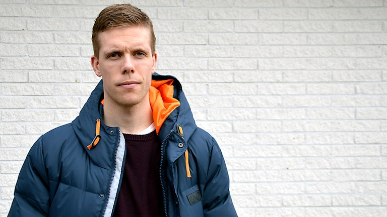 VIK:s lagkapten Fredrik Johansson.