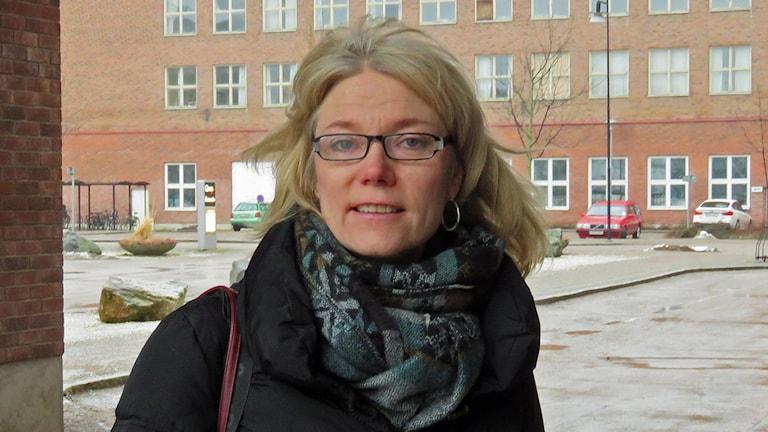Britt-Marie Henriksson arbetsmiljöinspektör.