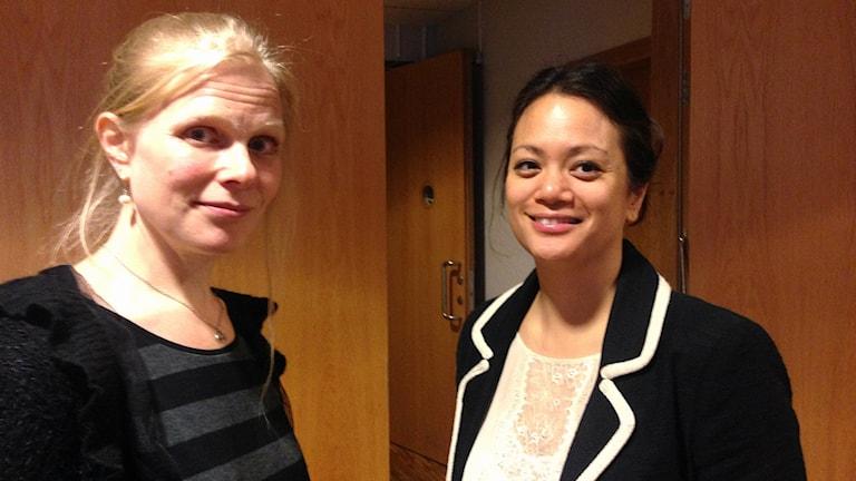 Sofia Joons och Jennie Wilhemsson