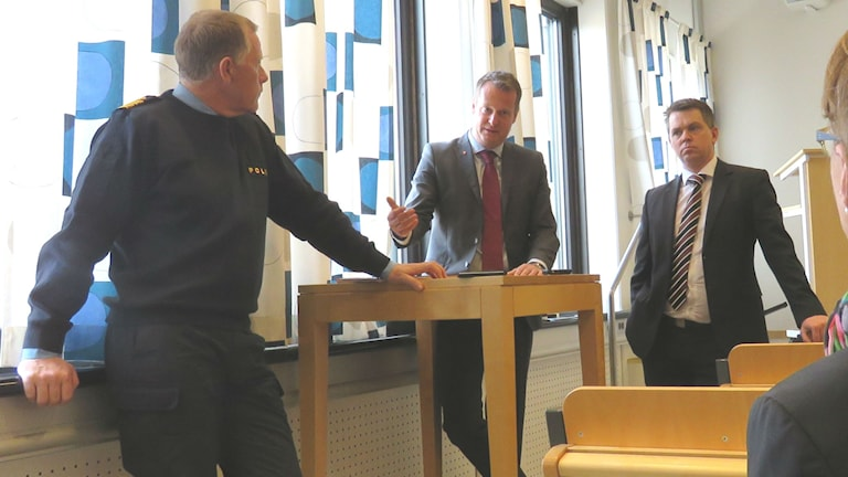 Henrik Thelander, Anders Ygeman, Lars Brånn