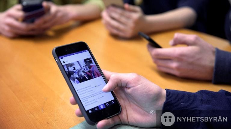 Mobil och sociala medier