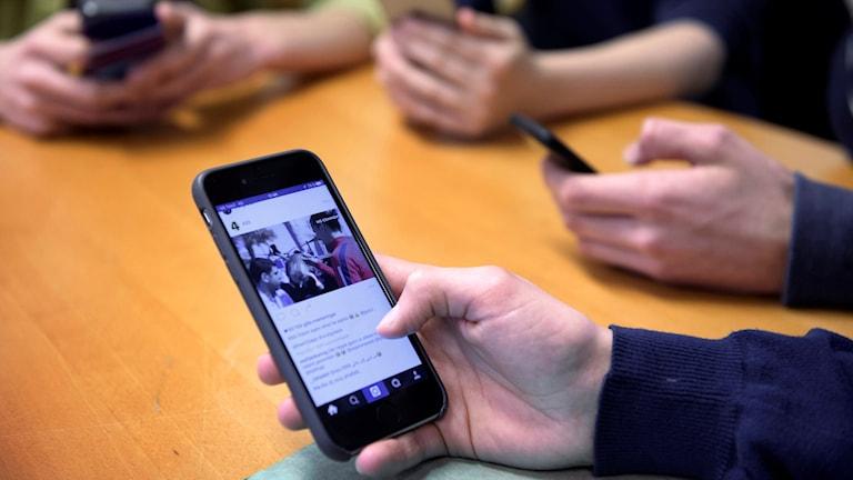 Mobil och sociala medier.
