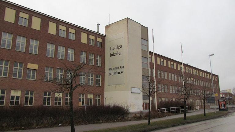 Gammal industrifastighet på Björnövägen i Västerås.