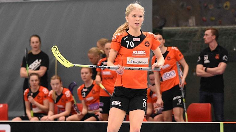 Rönnbys talang Jonna Sjöberg.