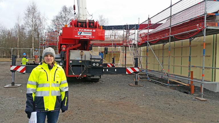 Kristin Hedman, projektledare för parkprojektet i Sala