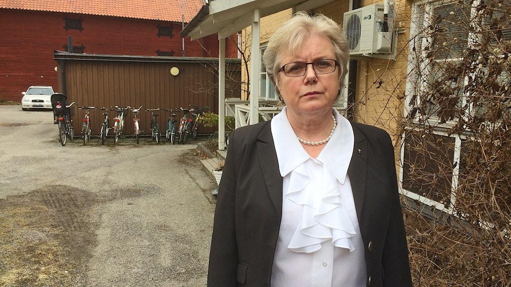 Agneta Bode, socialdemokratiskt kommunalråd i Arboga