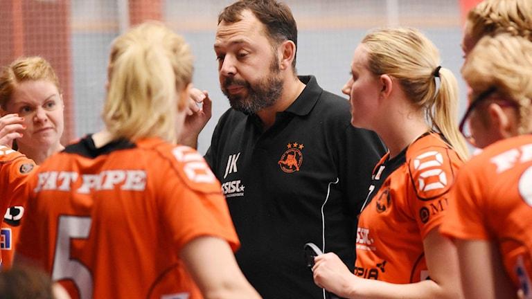 Rönnbys tränare Johan Kökeritz.